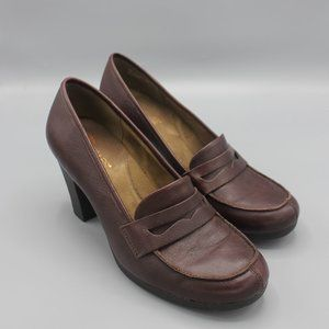 Aerosoles High Heel Penny Loafer Sertainly 9M Med